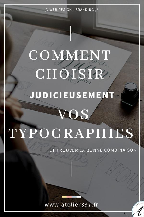 Comment choisir la typographie de votre site web