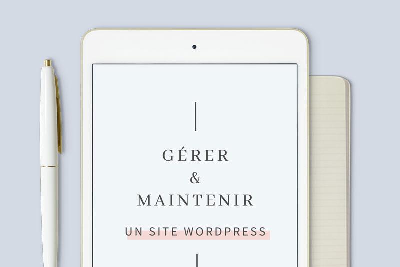 Module 5 Securiser et maintenir un site WordPress